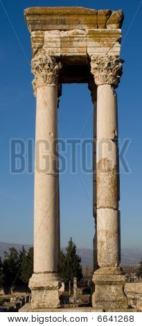 Ruins in Anjar Lebanon