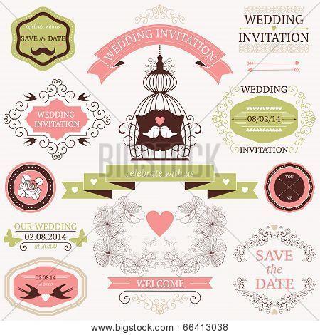 decorative wedding design elements