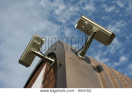 Roof Mounted CCTV Cameras