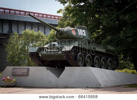 Legendary Russian Tank T-34