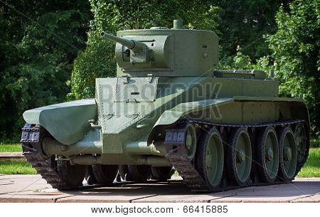 Light Cavalry Tank Bt-5