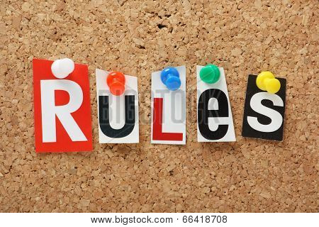 The word Rules