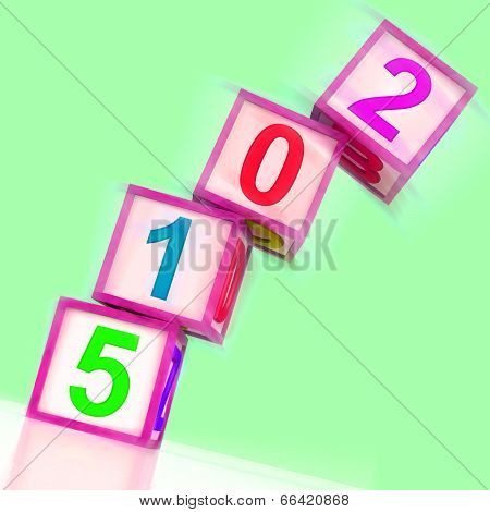 Two Thousand And Fifteen Word Show Year 2015
