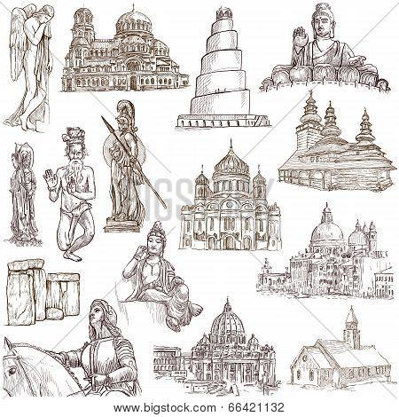Religion And Spiritual Life Around The World (set No.1)