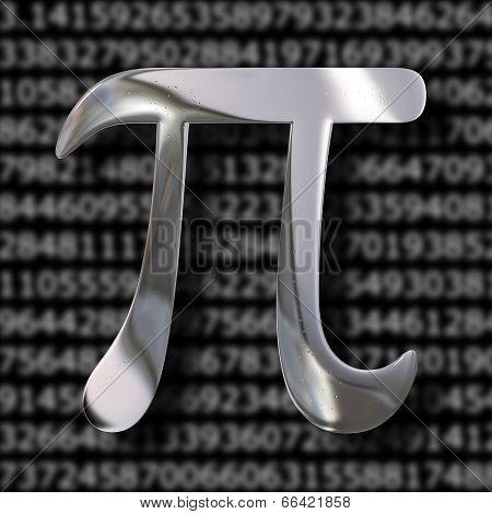 Pi Mathematics Symbol