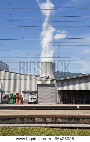Trainstation, Cooling Tower