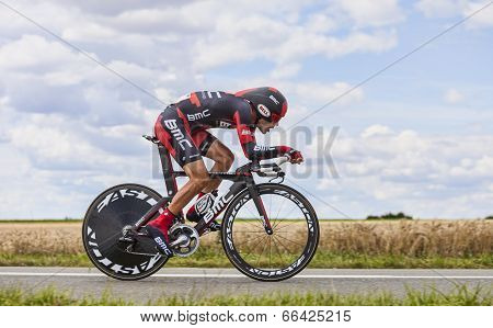 The Cyclist Amael Moinard