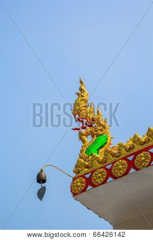 King Of Serpent On Church Roof