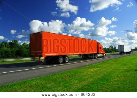 Truck Speed Highway