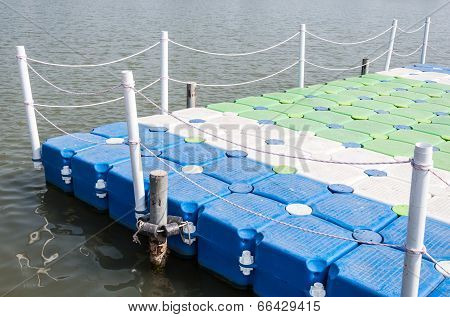 Colorful Pontoon