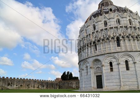 Baptistery of St. John - Square of Miracles - (Pisa)