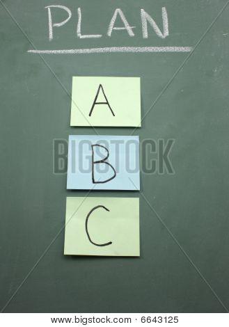 Plan A, B, Or C