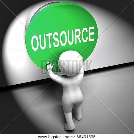 Outsource Pressed Means Freelancer Or Independent Worker