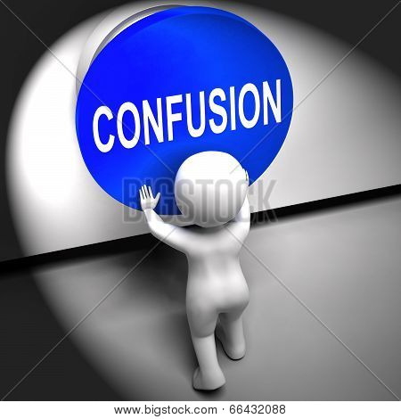 Confusion Pressed Means Puzzled Bewildered And Perplexed