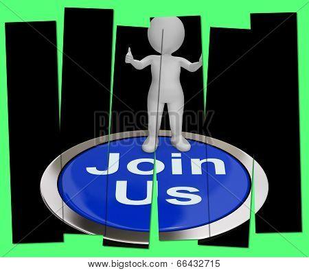 Join Us Pressed Shows Registering Membership Or Club