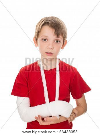 Boy With A Broken Arm