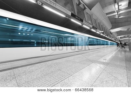 Subway Station Interior
