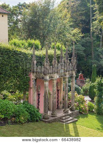 Italian inspired ornate building in Portmeirion