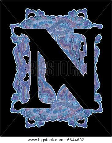 """Letter """"n""""."""