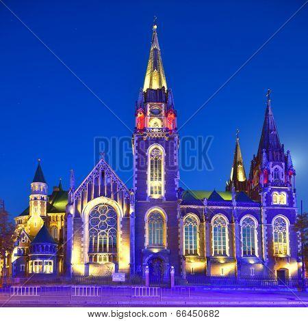 Church Of St. Olha And Elizabeth In Lviv