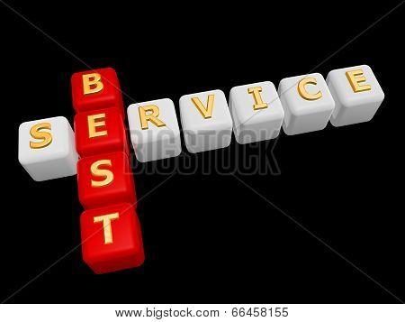 Best Service Cross Word