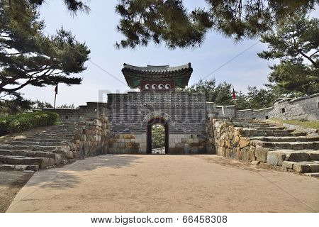 South-West Secret Gate of Sunwon Hwaseong
