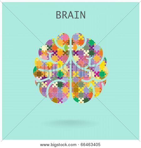 Creative Jigsaw Brain