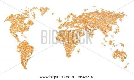 Densely populated areas (corn exploding)