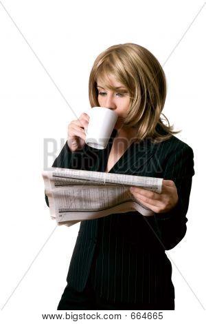 Business News And Coffee