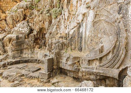 Lindos' Acropolis - A Ship Sculptured in the Rock