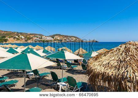 Beach. Crete, Greece
