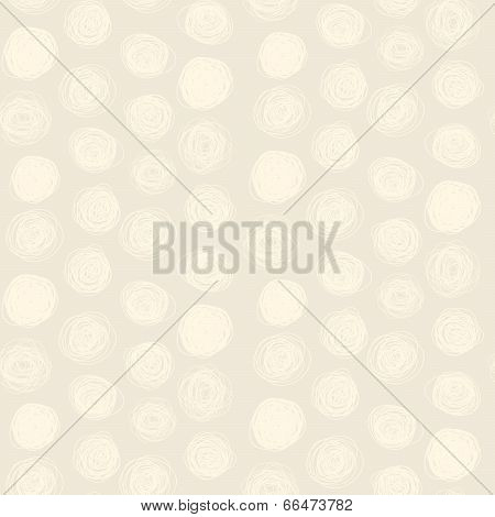 Seamless Abstract Childish Scribble Pattern (vector)