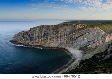 The Coastline Near Cape Espichel, Portugal