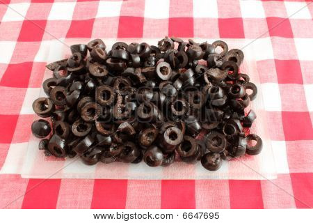 Sliced Black Olives