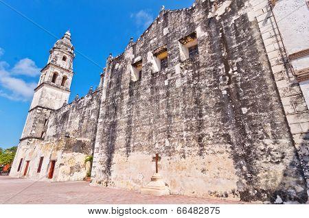 Cathedral de la Concepcion in Campeche, Mexico