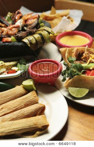 Mexican Food - Vertical