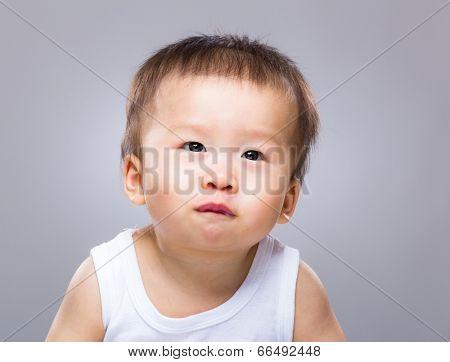 Baby pout lip