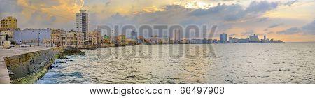 Havana Malecon Panorama