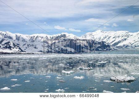 Nearing Hubbard Glacier