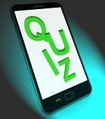 pic of quiz  - Quiz On Mobile Meaning Test Quizzes Or Questions Online - JPG