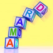 stock photo of drama  - Drama Word Showing Acting Play Or Theatre - JPG