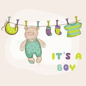 image of baby bear  - Baby Shower Air balloon Theme   - JPG