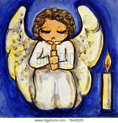 Angel Candlelight Prayer