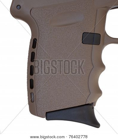 Brown Pistol Grip