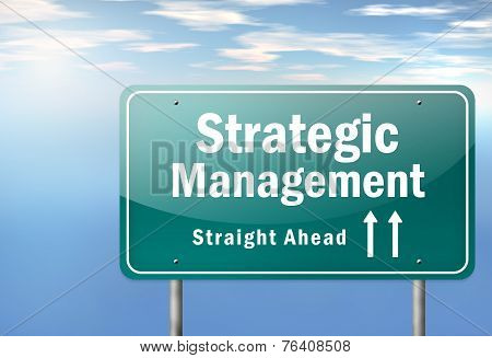 Highway Signpost Strategic Management