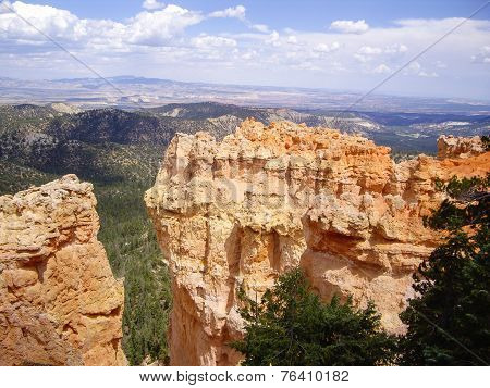 Sandstone Of Bryce Canyon