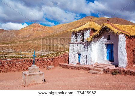 Straw Roof Machuca Church
