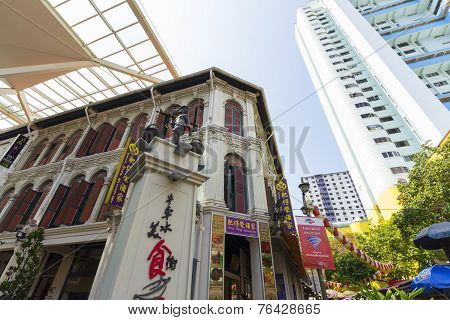 Singapore's Chinatown Heritage Center