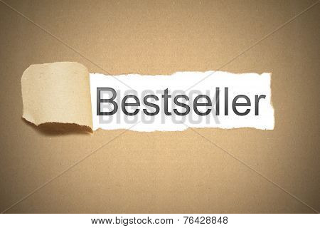 Brown Package Paper Carton Torn To Reveal White Space Bestseller