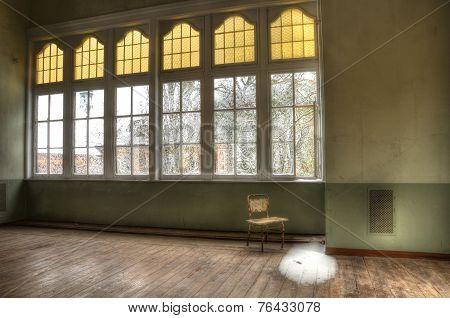Abandoned Room In Beelitz